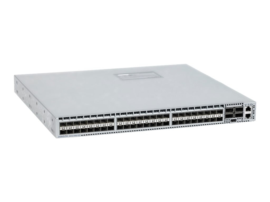 7050, 48xSFP+ & 4xQSFP+ switch, rear-to-front airflow  and dual 460W AC power supplies, DCS-7050S-64-R, 17296645, Network Switches