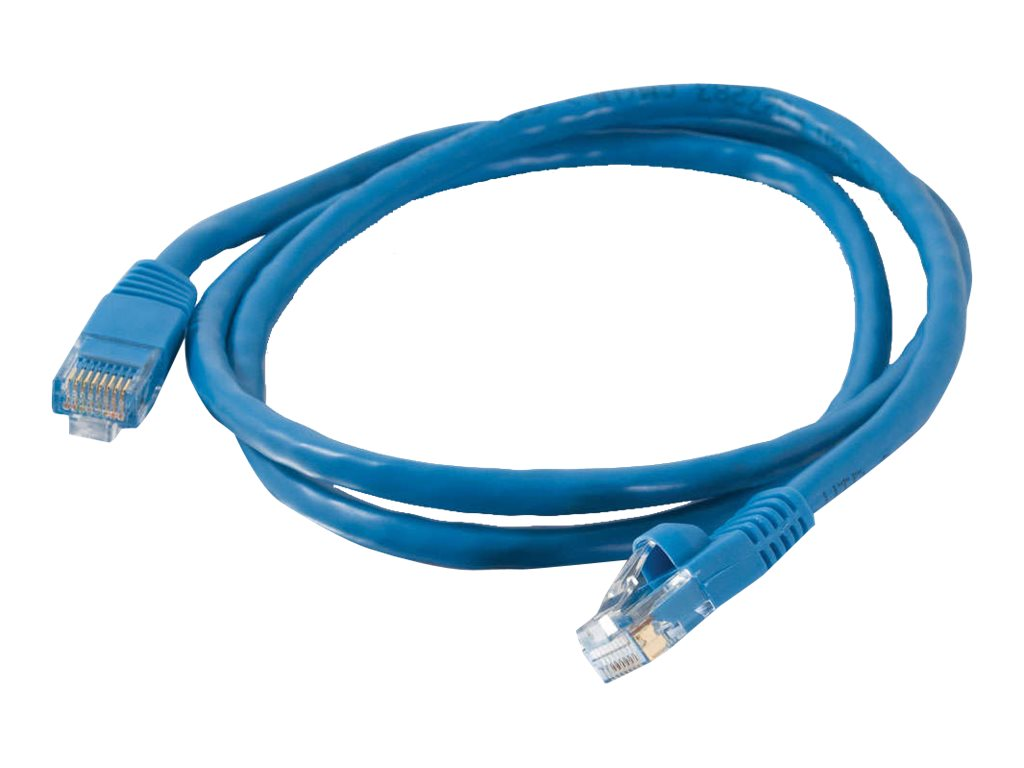 C2G Cat5e Snagless Unshielded (UTP) Network Patch Cable - Blue, 35ft