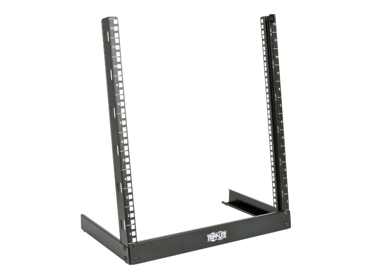 Tripp Lite SmartRack 12U Desktop 2-Post Open-Frame Rack