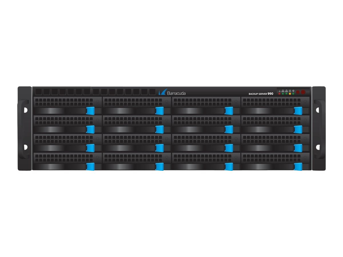 Barracuda Backup Server 991 w Backup Server 990 w 10 GBE w FGBE Fiber NIC w 1-year EU+IR+BU