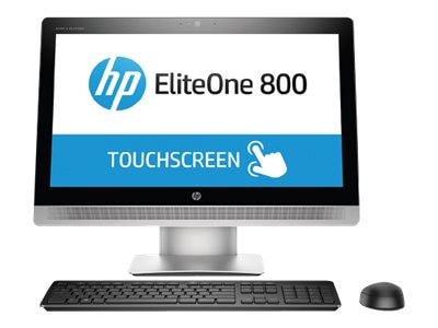 HP EliteOne 800 G2 AIO Core i7-6700 3.4GHz 8GB 128GB SSD HD530 DVD-RW GbE ac WC 23 Touch W7P64, T6C33AW#ABA, 31122836, Desktops - All-in-One