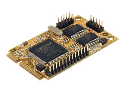 StarTech.com 2s1p Serial Parallel Combo Mini PCI Express Card for Embedded Systems, MPEX2S1P552