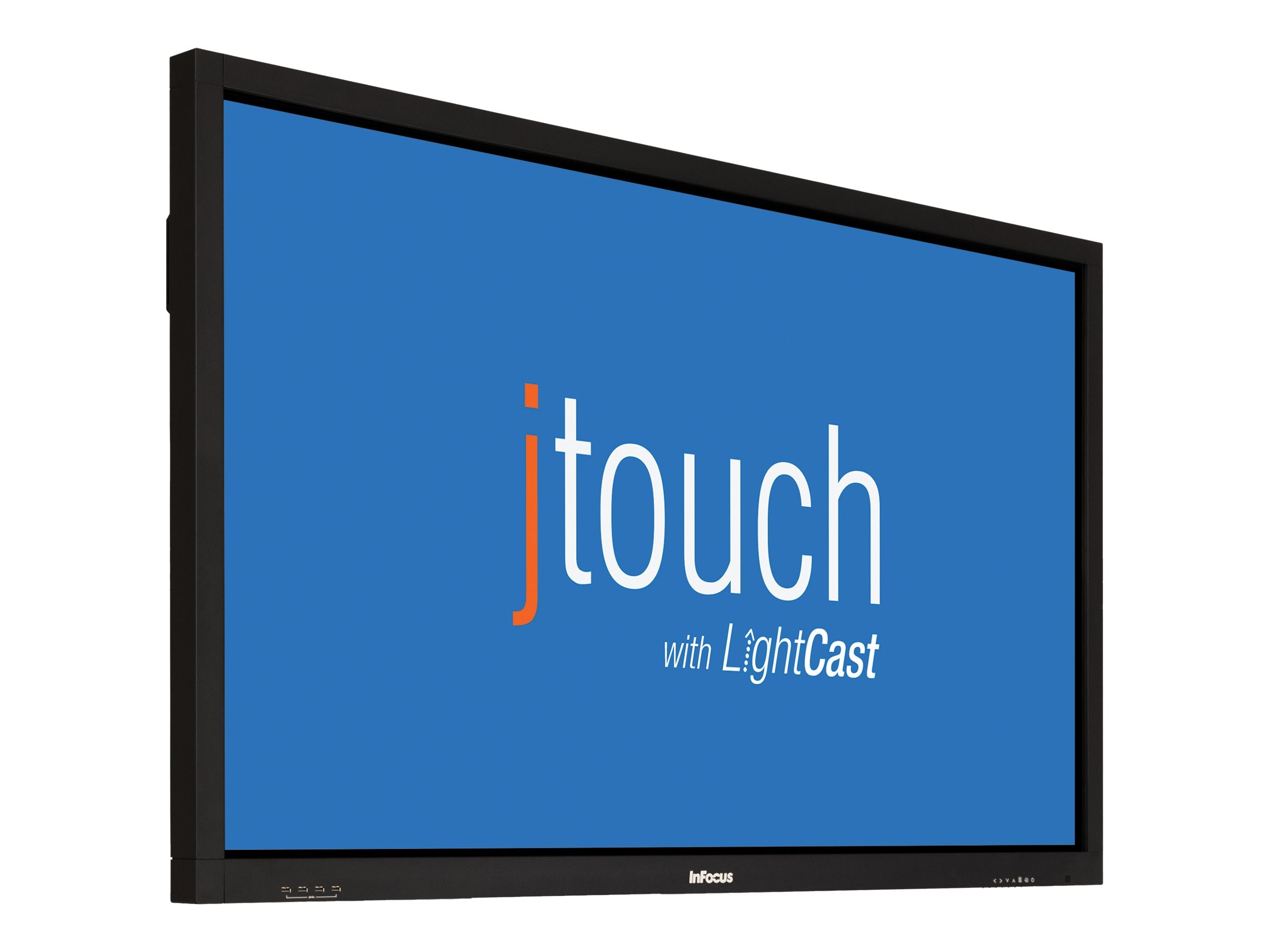 InFocus 65 JTouch Full HD LED-LCD Interactive Whiteboard with Wireless Collaboration, Black, INF6501CBAGP