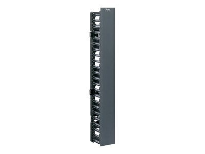 Panduit NetRunner Vertical Cable Manager, Front Only, RoHS, WMPVF45E, 8249791, Rack Cable Management