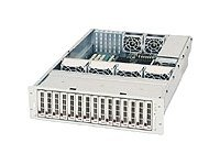 Supermicro Chassis, 3U, Rackmount, 15 SATA Hot Swap, 760W Triple-Redundant PS, Black, CSE-933T-R760B, 6074713, Cases - Systems/Servers