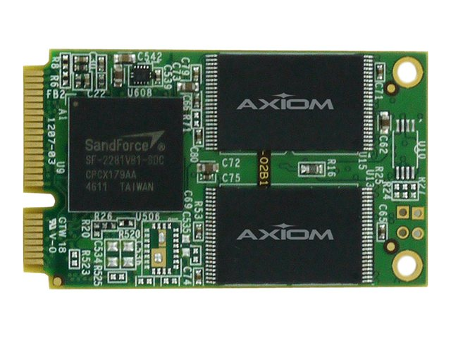 Axiom 120GB Signature III mSATA 6Gb s Async Internal Solid State Drive, SSDMO3A3120-AX