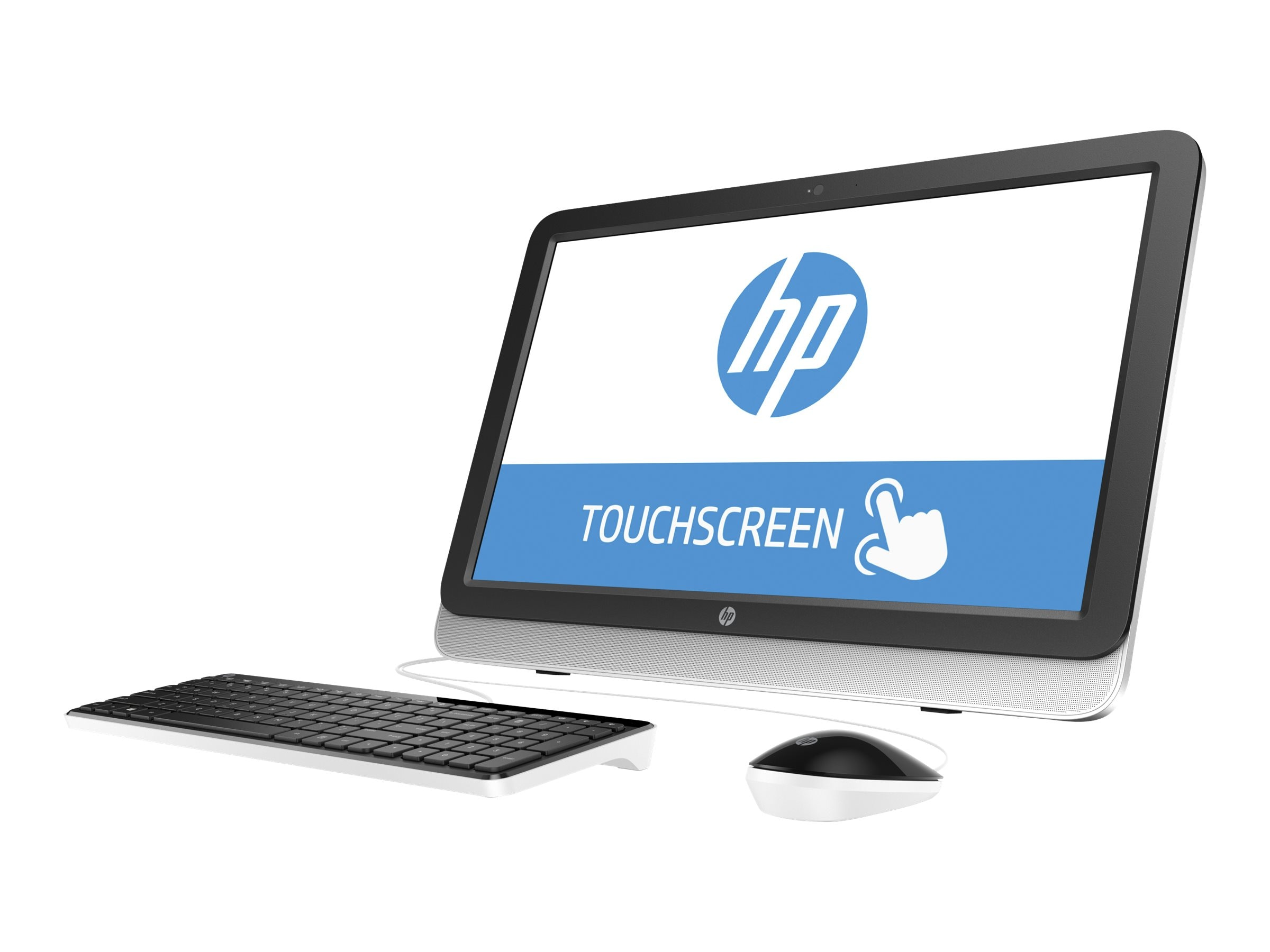 HP 22-3120 AIO AMD A6-6310 4GB 1TB DVD-RW WL 21.5 W10, M9Z57AA#ABA, 30811859, Desktops - All-in-One