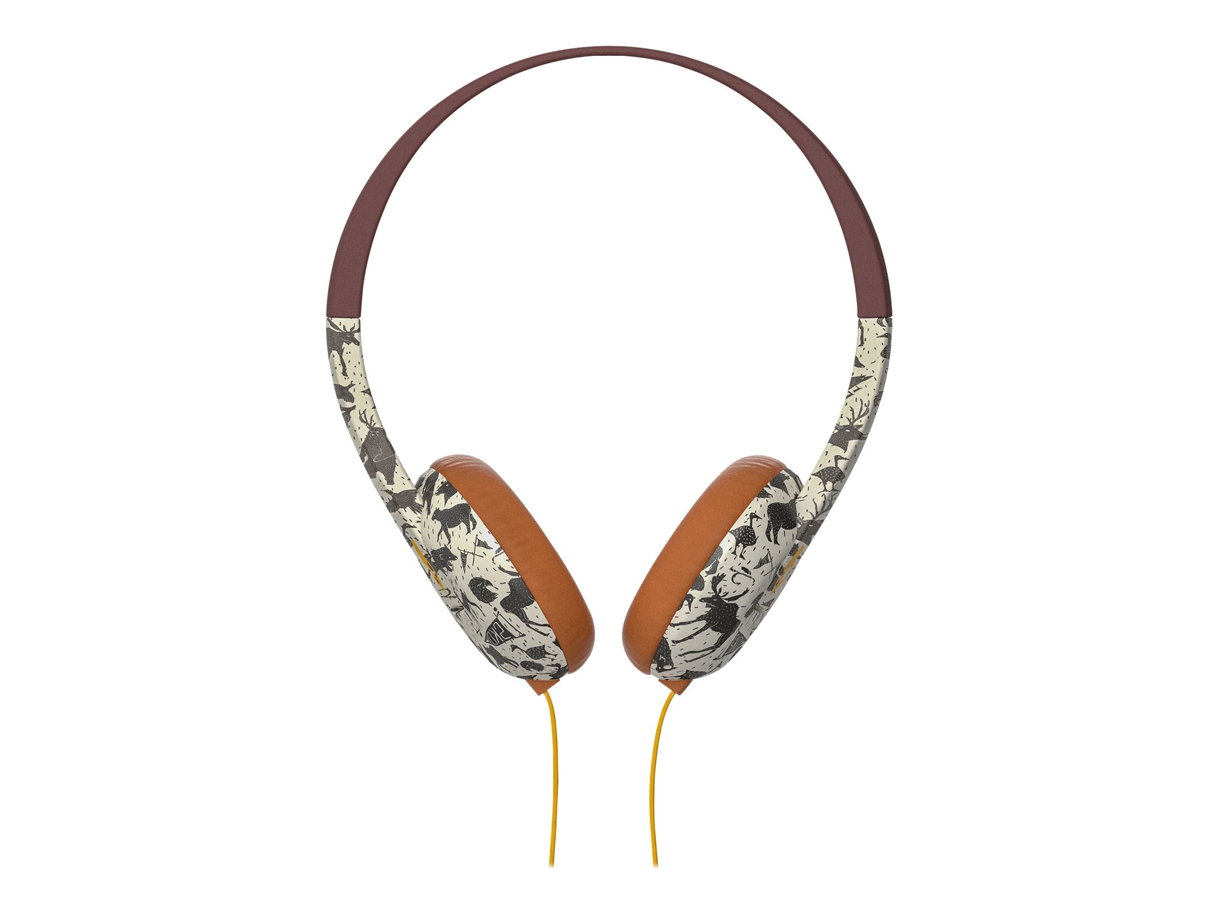 Skullcandy Uproar Headphones - Explore Animal Mustard, S5URHT-452