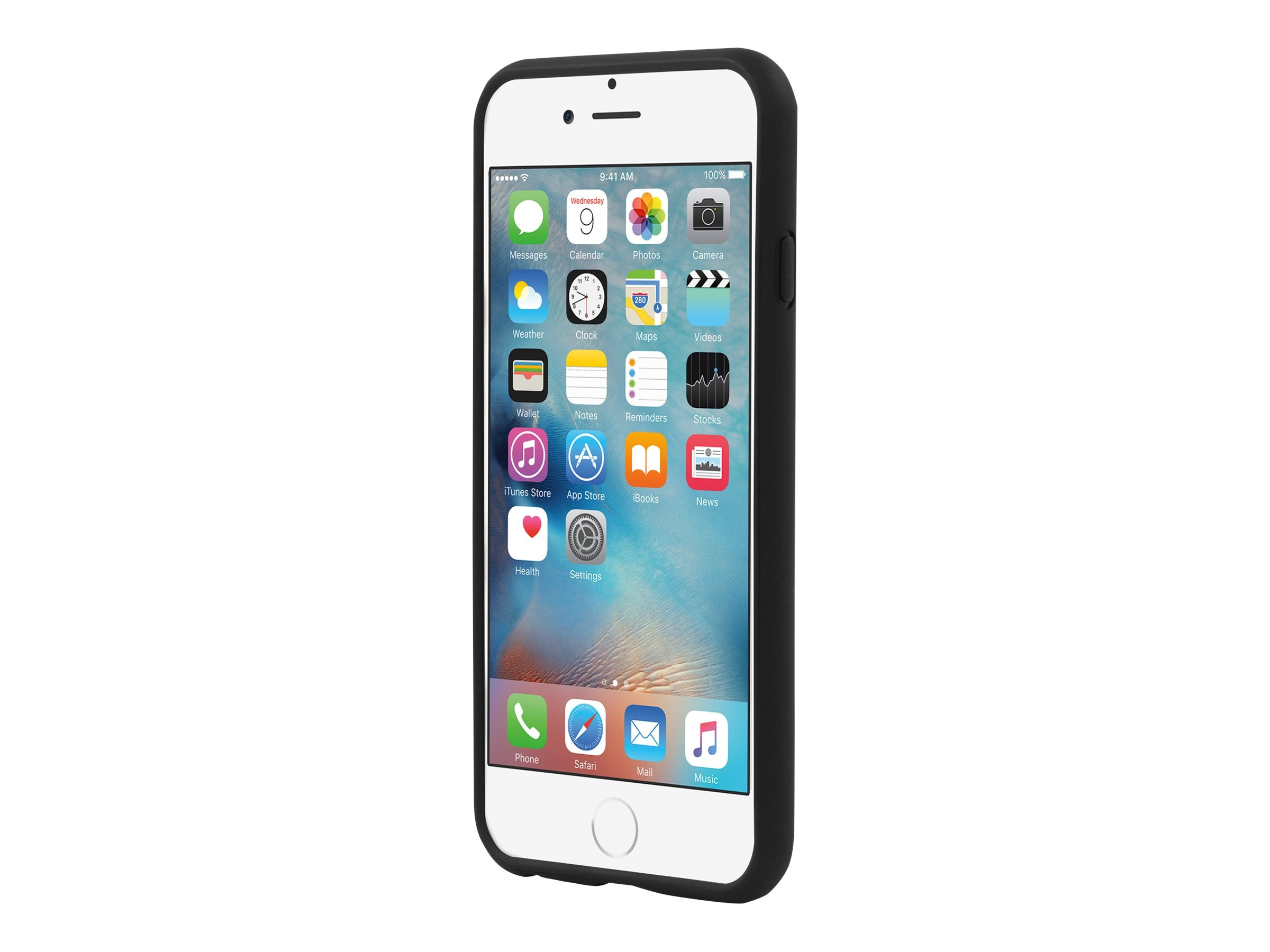 Incipio NGP Flexible Impact-Resistant Case for iPhone 6 6s, Black