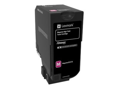 Lexmark Magenta High Yield Toner Cartridge for CX725 Series