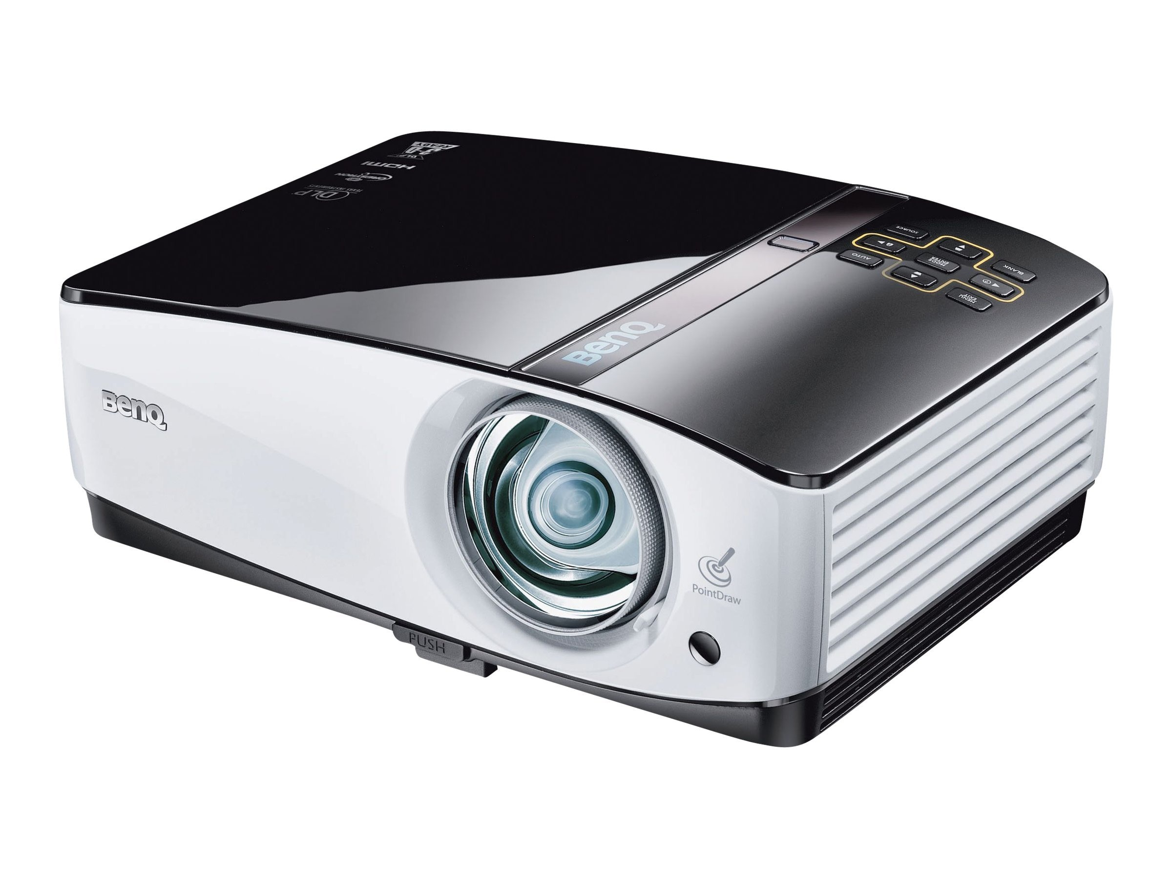 Benq MP780ST+ WXGA DLP Projector with Speakers, 2500 Lumen, MP780ST+
