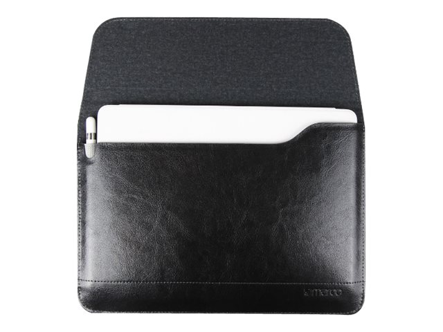 Cyber Acoustics Premium Leather Sleeve for iPad Air Air 2 Pro 9.7, Black, MR-IC5706