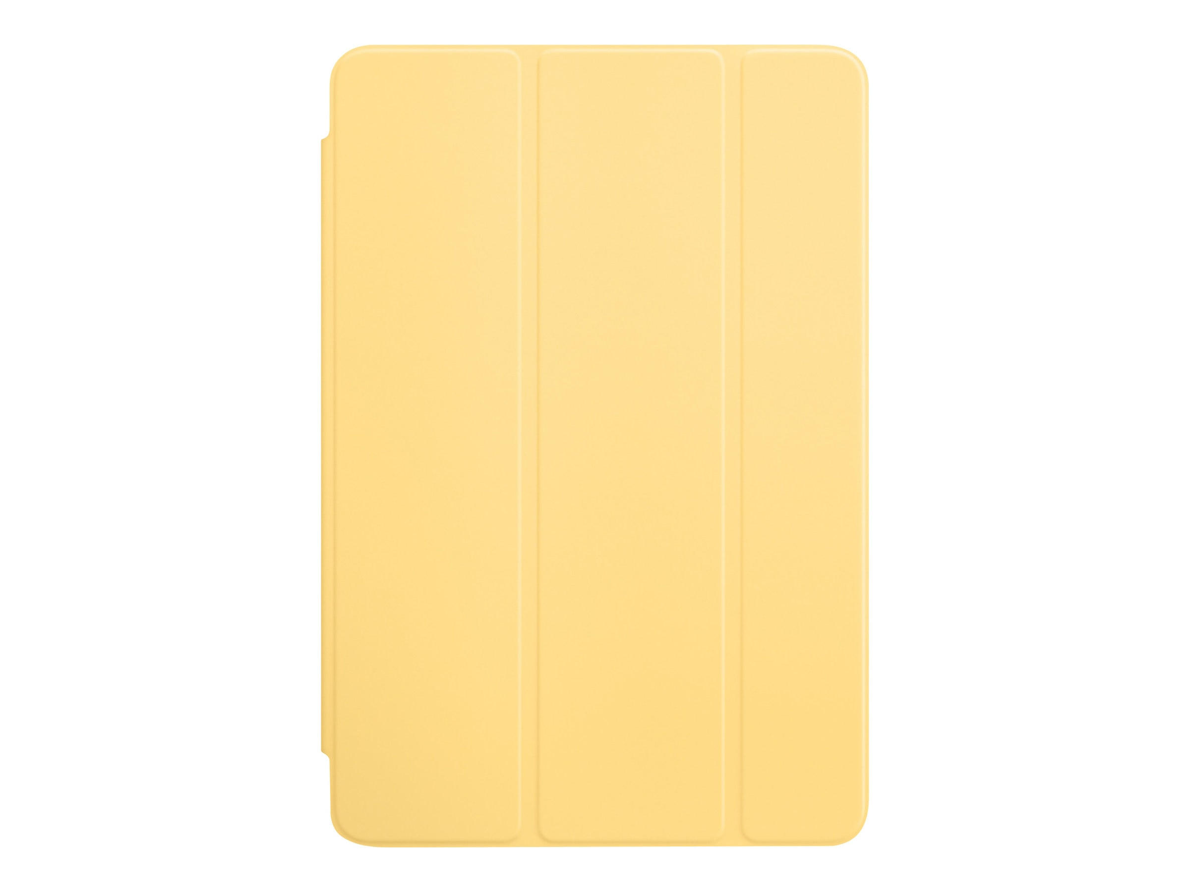 Apple iPad mini 4 Smart Cover, Yellow, MM2X2ZM/A, 31811703, Carrying Cases - Tablets & eReaders