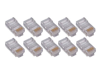 4Xem Cat5e Connector, 50-Pack, 4X50PKC5E, 16923125, Cable Accessories