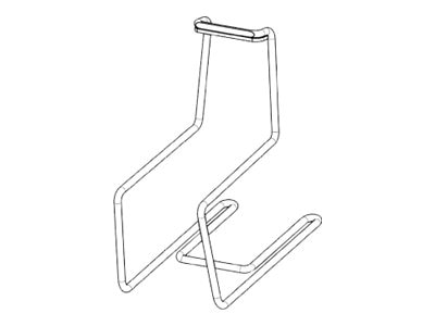 Rubbermaid M40 Wire Scanner Bracket, 1810680