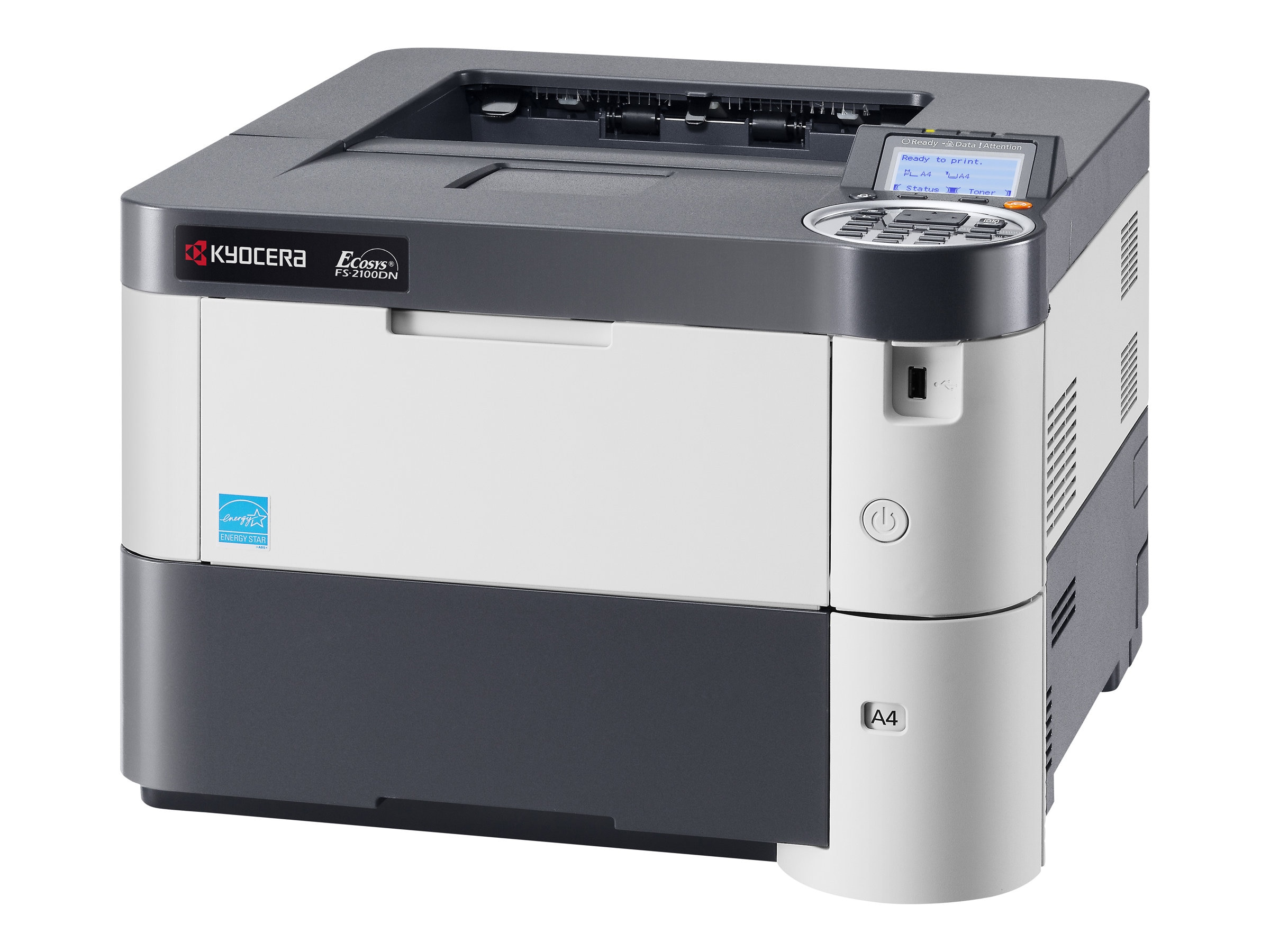 Kyocera FS-2100DN Network Printer, FS-2100DN, 15471930, Printers - Laser & LED (monochrome)