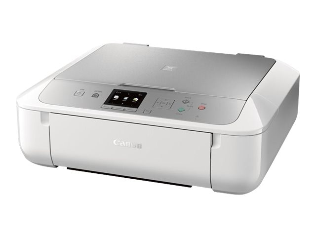 Canon PIXMA MG5722 Photo All-In-One Inkjet Printer - White Silver