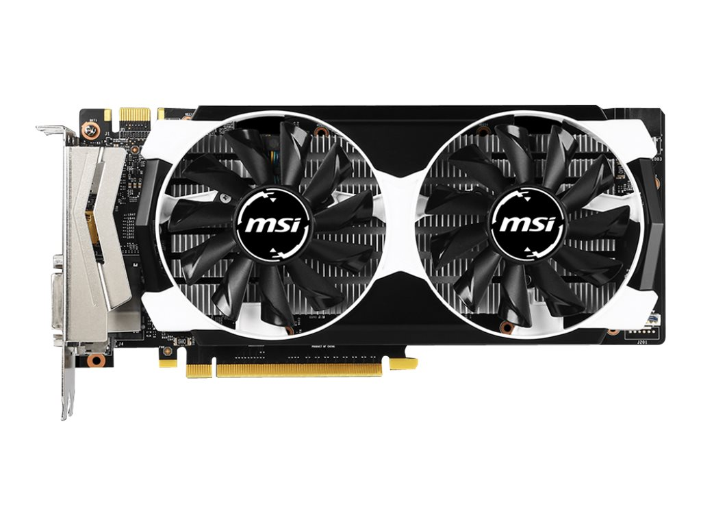 Microstar GeForce GTX 950 PCIe 3.0 x16 Overclocked Graphics Card, 2GB GDDR5, GTX 950 2GD5T OC, 29832687, Graphics/Video Accelerators
