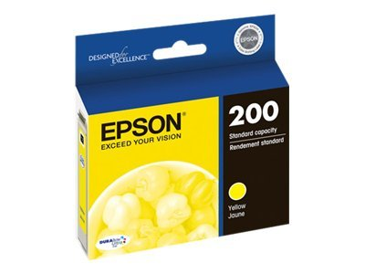 Epson Yellow #200 Ink Cartridge, T200420, 14896936, Ink Cartridges & Ink Refill Kits