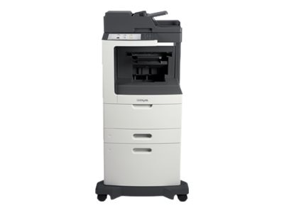 Lexmark MX810dxe Monochrome Laser Multifunction Printer, 24T7415