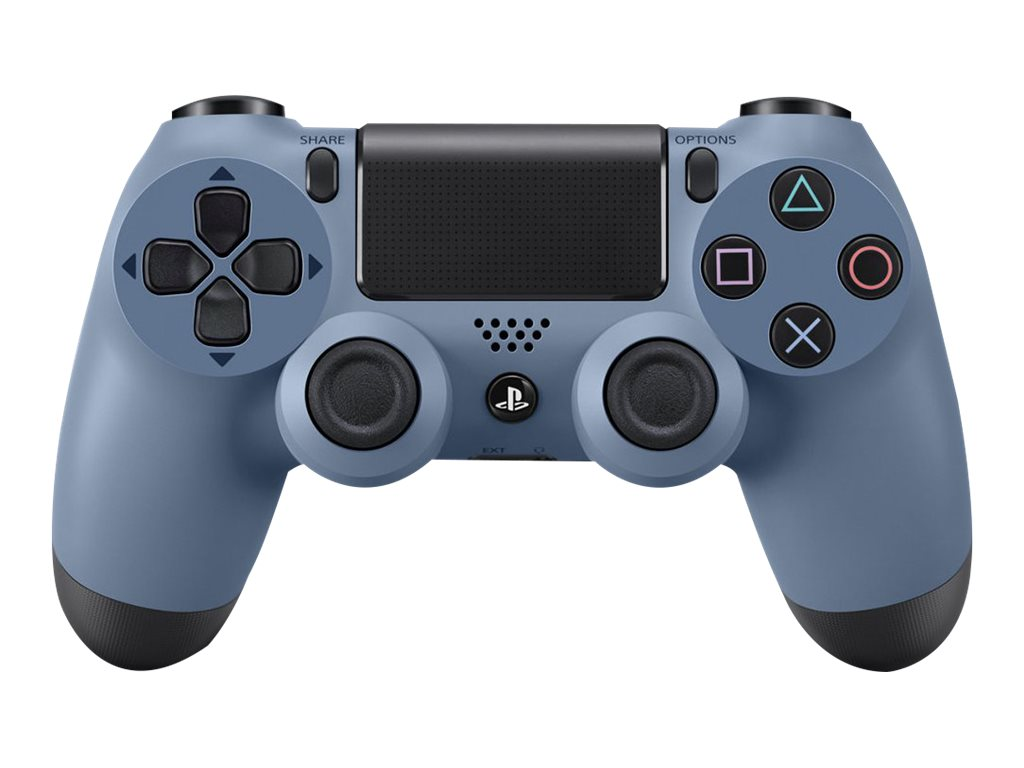 Sony PS4 DualShock 4 Wireless Controller, Gray Blue, 3001412, 31485346, Video Gaming Accessories