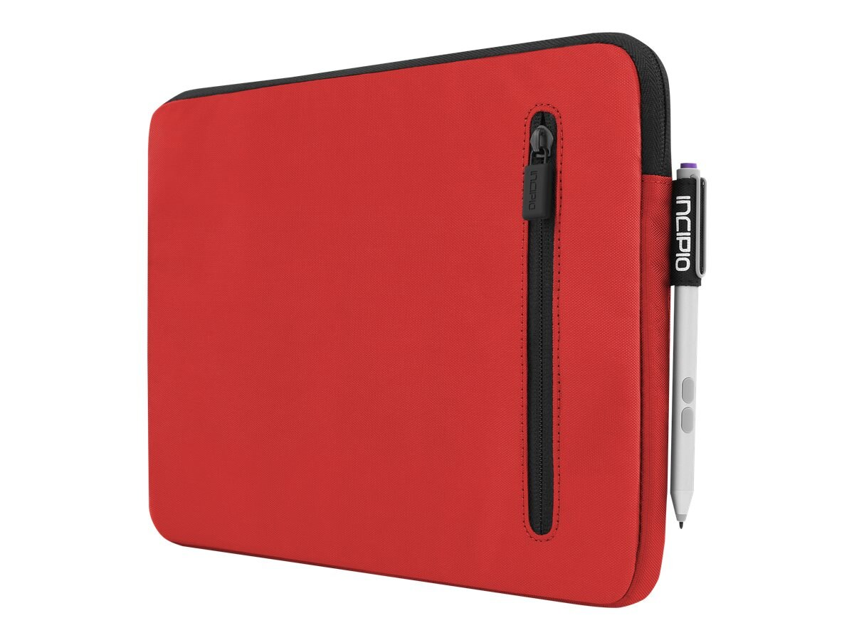 Incipio ORD Protective Padded Sleeve for Microsoft Surface 3, Red