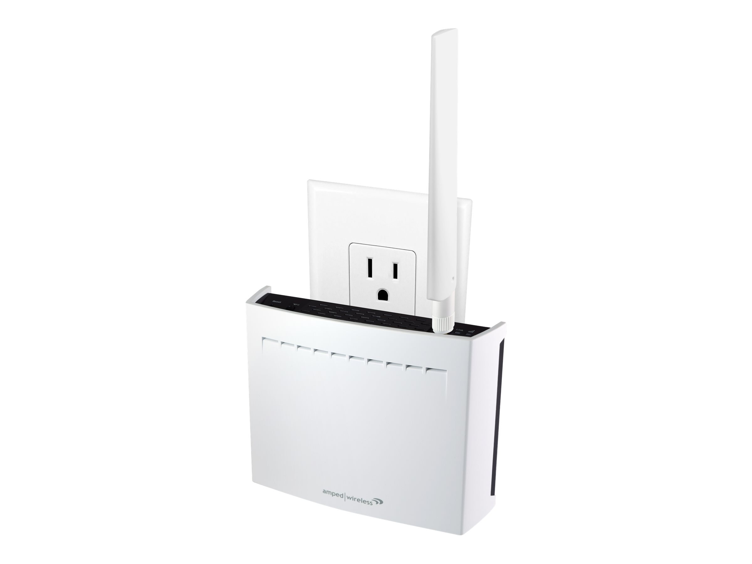 Amped Wireless High Power PlugIn AC Long Range Extender 802.11 AC1750 1 LAN Port, REC33A, 18791234, Network Repeaters