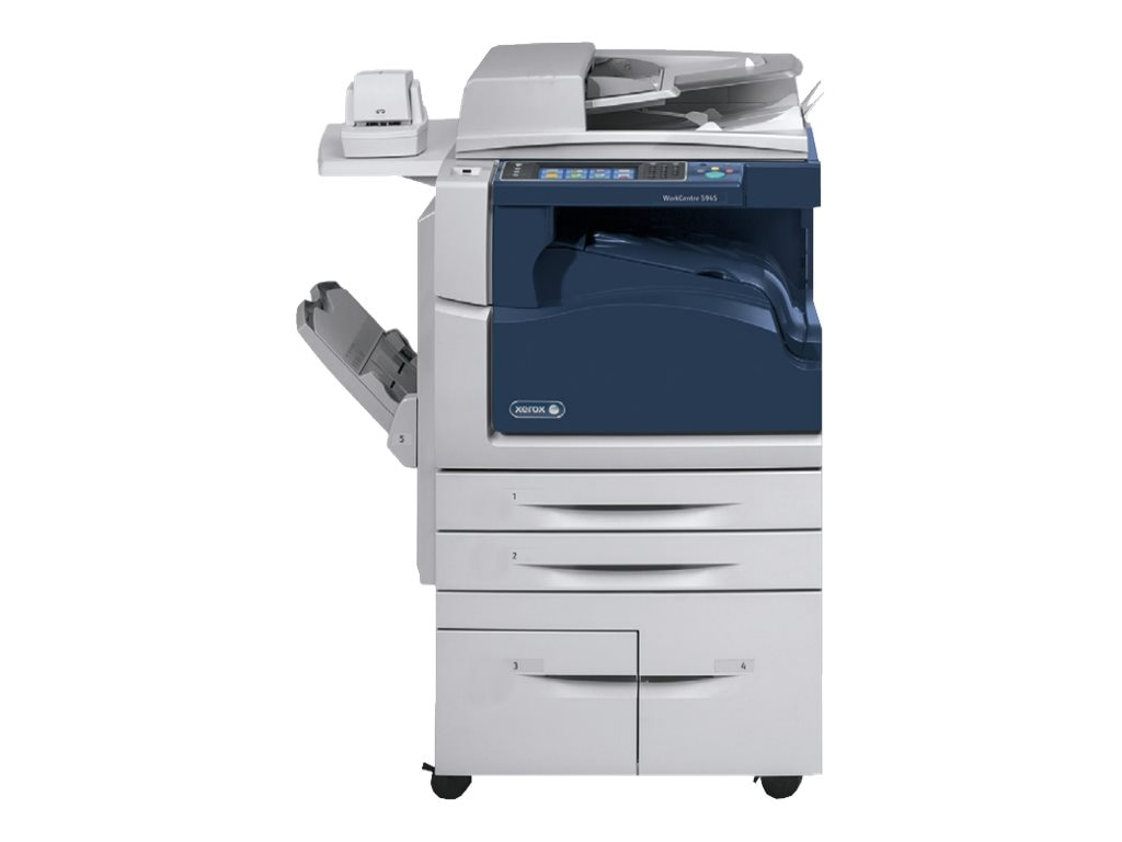 Xerox WorkCentre 5945 Black & White MFP w  200-Sheet SPDH & (4) Trays, 5945/OCT2, 17727927, MultiFunction - Laser (monochrome)