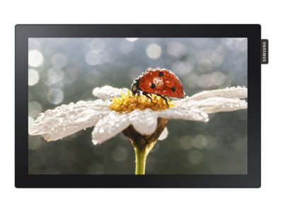 Samsung 10.1 DBE-T LED-LCD Commercial Touchscreen Display, Black, DB10E-T