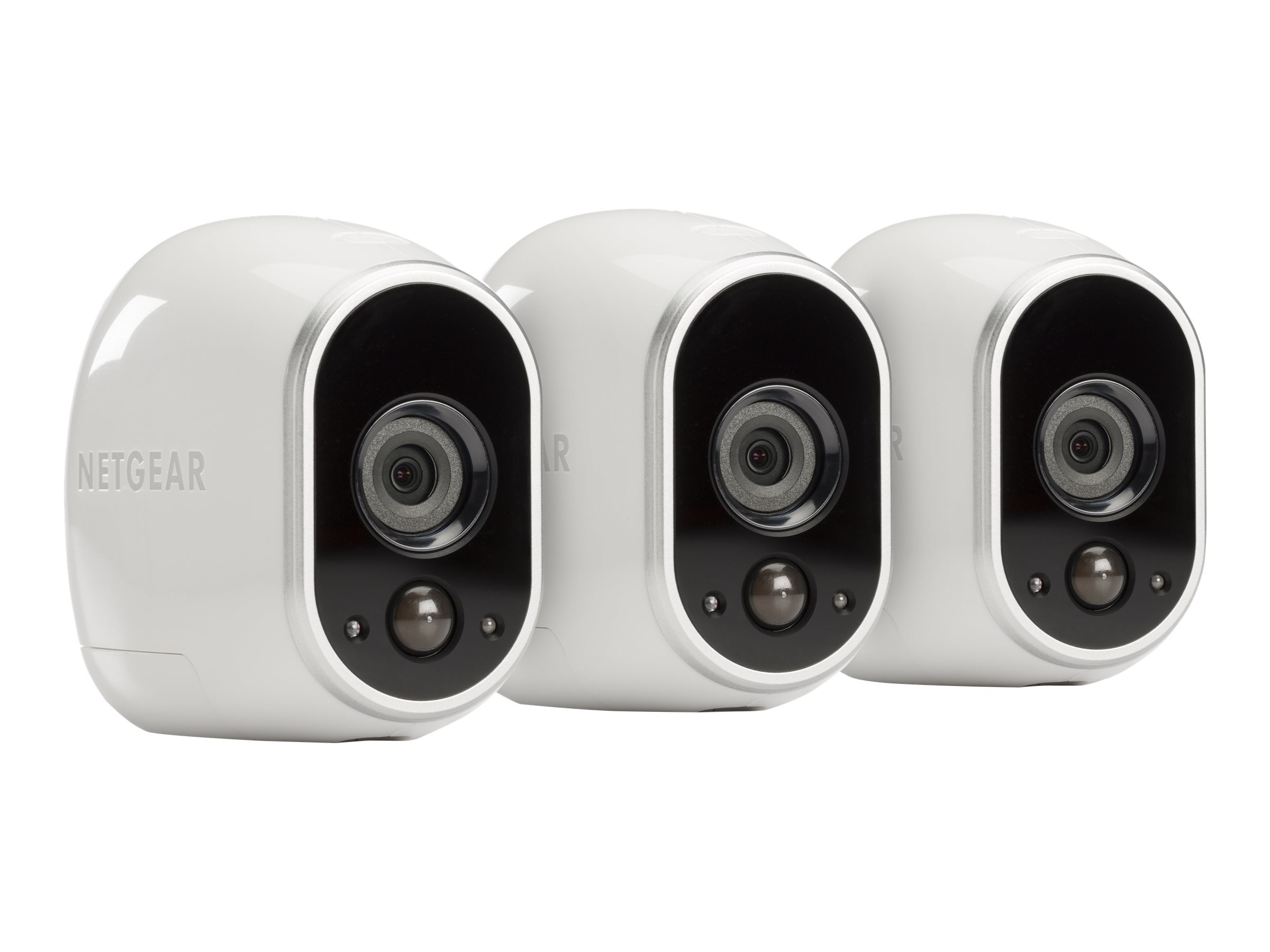 Netgear Arlo Security System with 3 HD Cameras, VMS3330-100NAS, 18791437, Cameras - Security