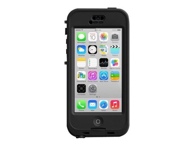 Lifeproof NUUD for iPhone 5C, Black Clear