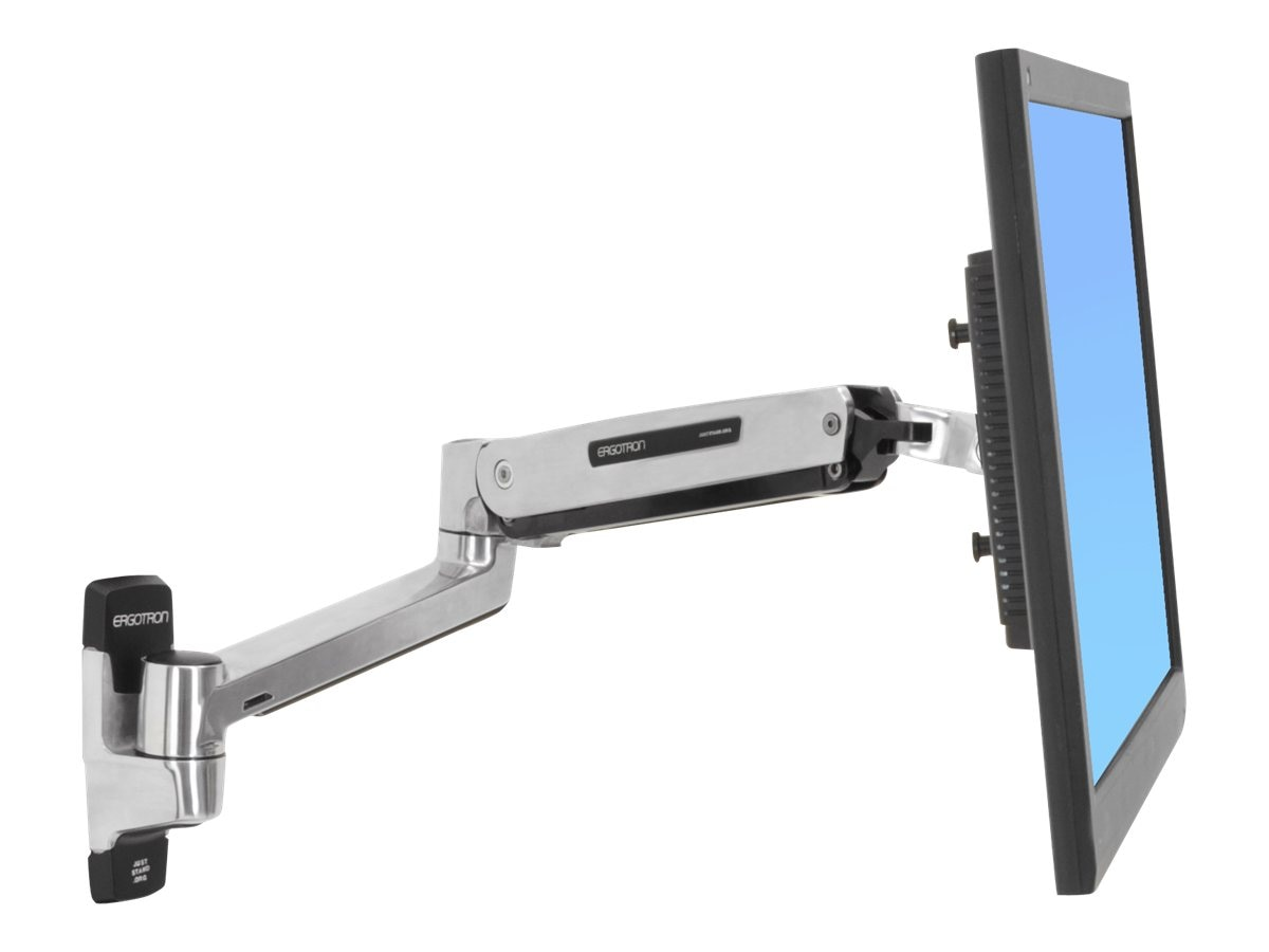 Ergotron LX Sit-Stand Wall Mount LCD Arm, 45-353-026, 15007352, Stands & Mounts - AV
