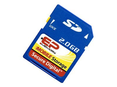 Ep-Tech 2GB microSD Flash Memory Card for Mobile Device, EPSD/2GB, 14494611, Memory - Flash
