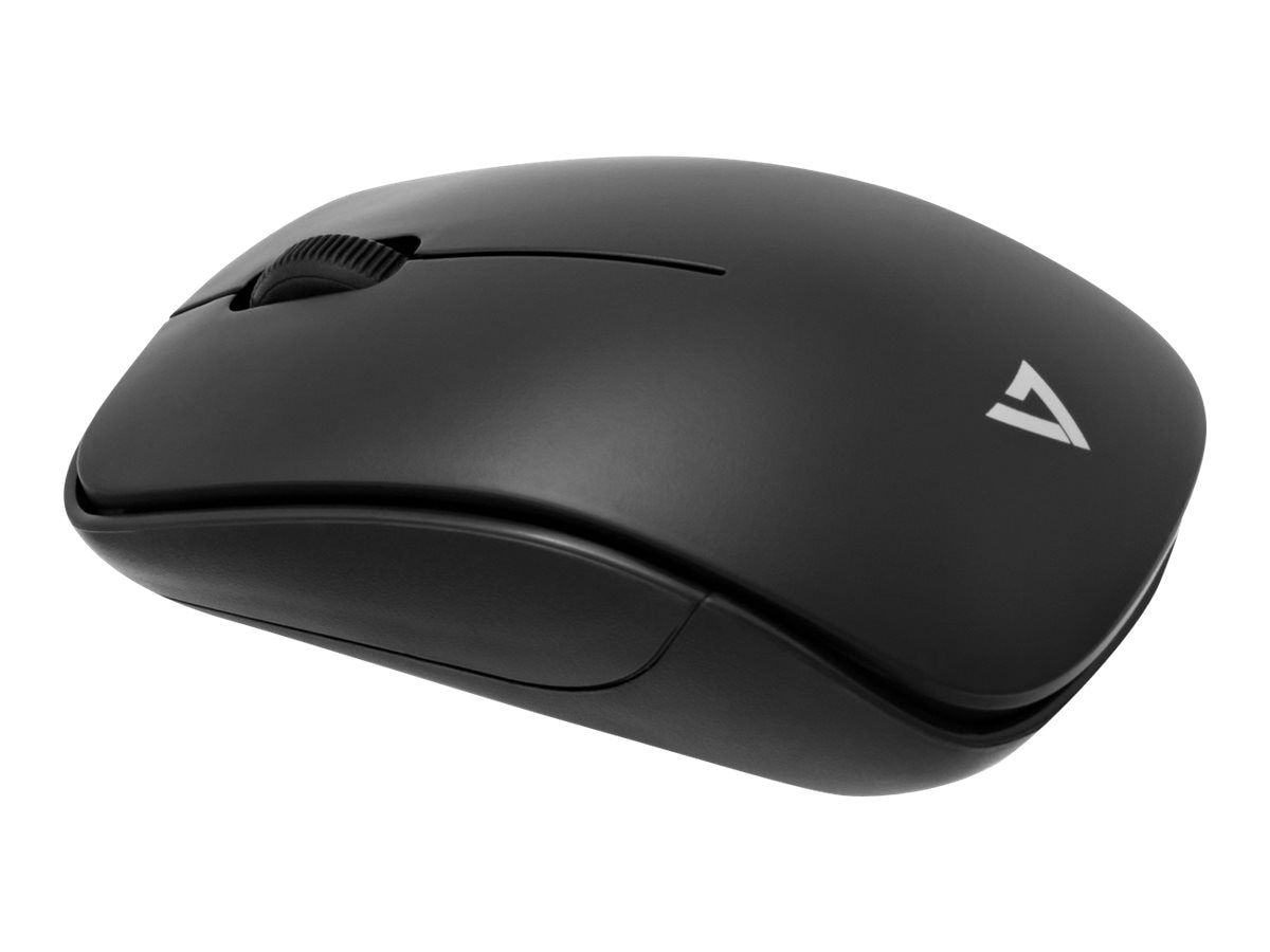 V7 Wireless Optical Mouse 3-Button 1000dpi, MV3070-1N