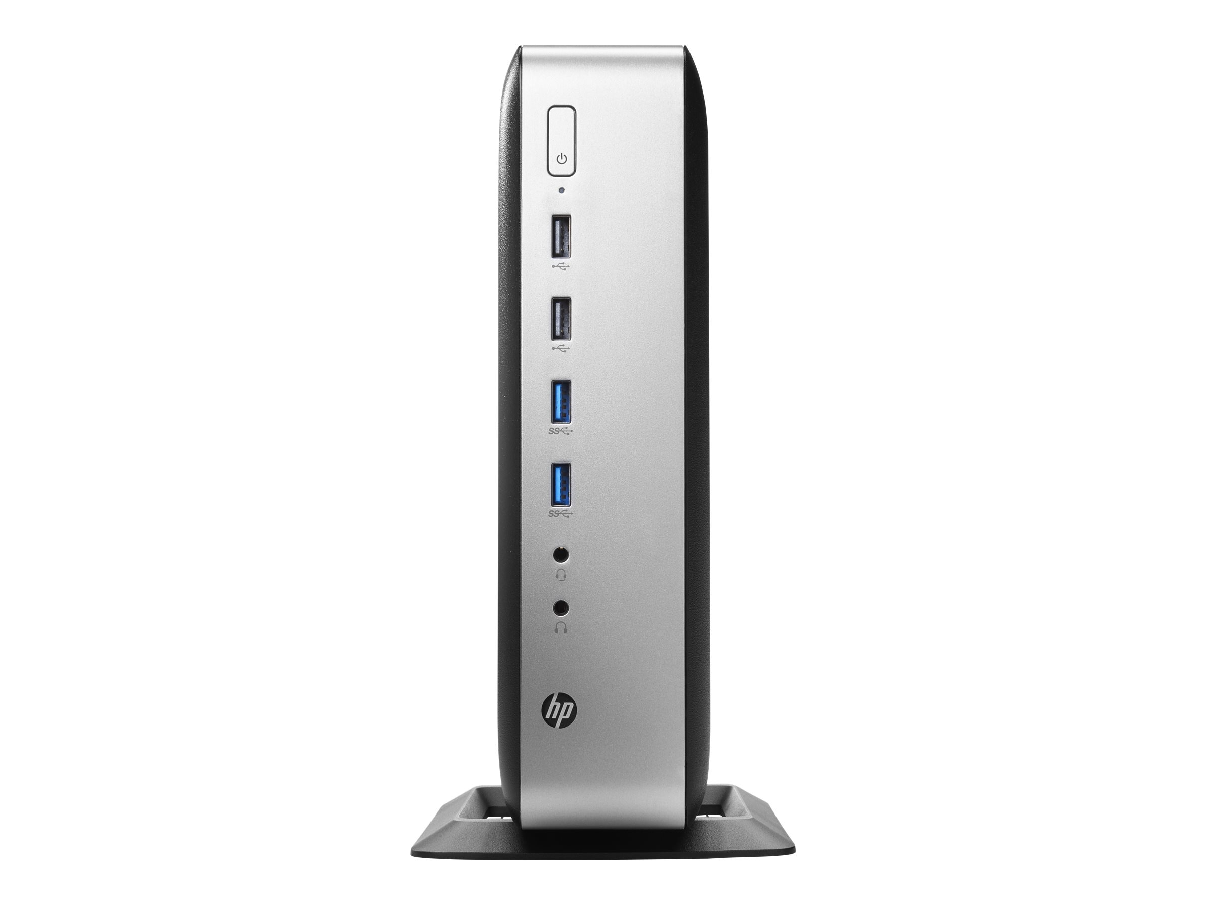 HP t730 Thin Client AMD QC RX-427BB 2.7GHz 8GB 32GB Flash HD9000 GbE W10 IoT, P3S26AT#ABA