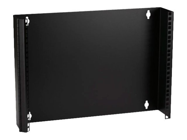 Black Box Wallmount Patch Panel Bracket, 19W, M5 Holes, 4 Deep, Hinged Lip, 8U (14H)