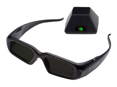 PNY 3D Vision Pro Glasses with Hub, 3DVIZPRO-GLASSES+EMT