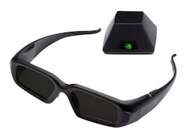 PNY 3D Vision Pro Glasses with Hub, 3DVIZPRO-GLASSES+EMT, 15081042, Monitor & Display Accessories