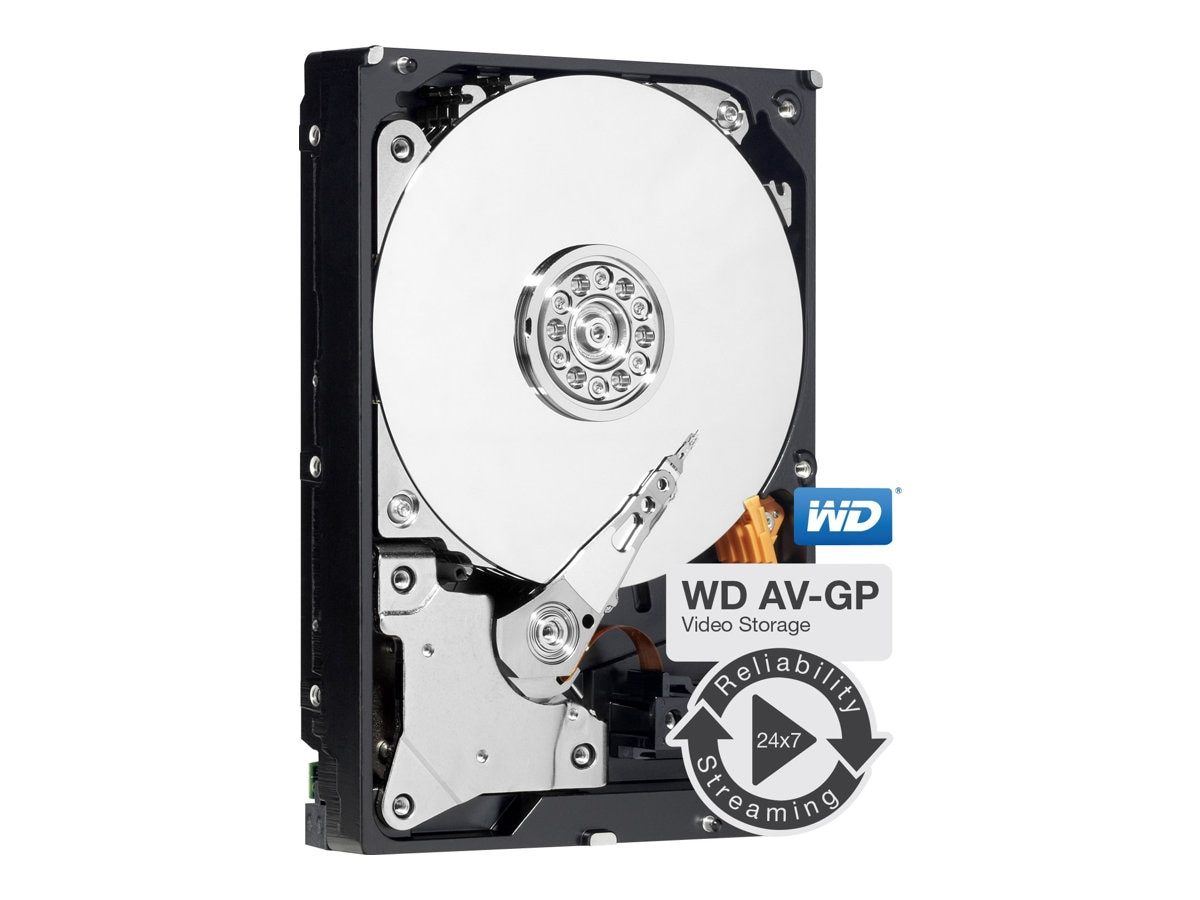 WD 500GB AV-GP SATA 3Gb s 3.5 Internal Hard Drive - 32MB Cache, WD5000AVDS, 10663140, Hard Drives - Internal