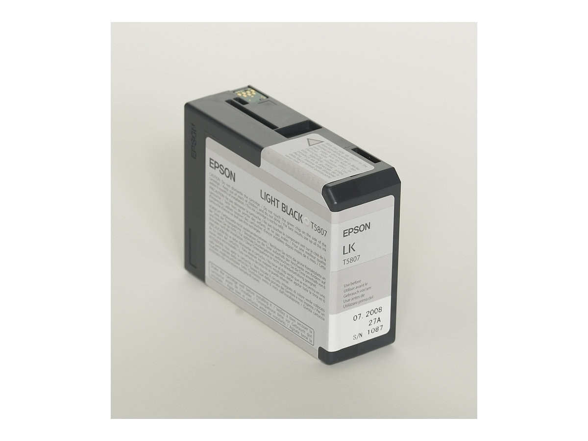 Epson 80 ml Light Black UltraChrome K3 Ink Cartridge for Stylus Pro 3800 3800 Professional Edition