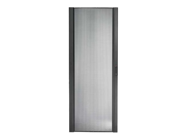 APC NetShelter SX 45U 750mm Wide Perforated Curved Door, Black, AR7055, 13471485, Rack Mount Accessories