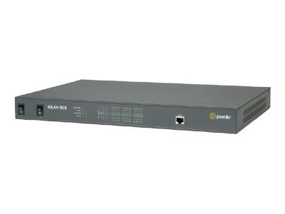 Perle IOLAN SCS32C DAC 32Pt. RS-232 Cisco Sun RJ45 Rack Dual AC & Ethernet, 04030774, 10776013, Remote Access Servers