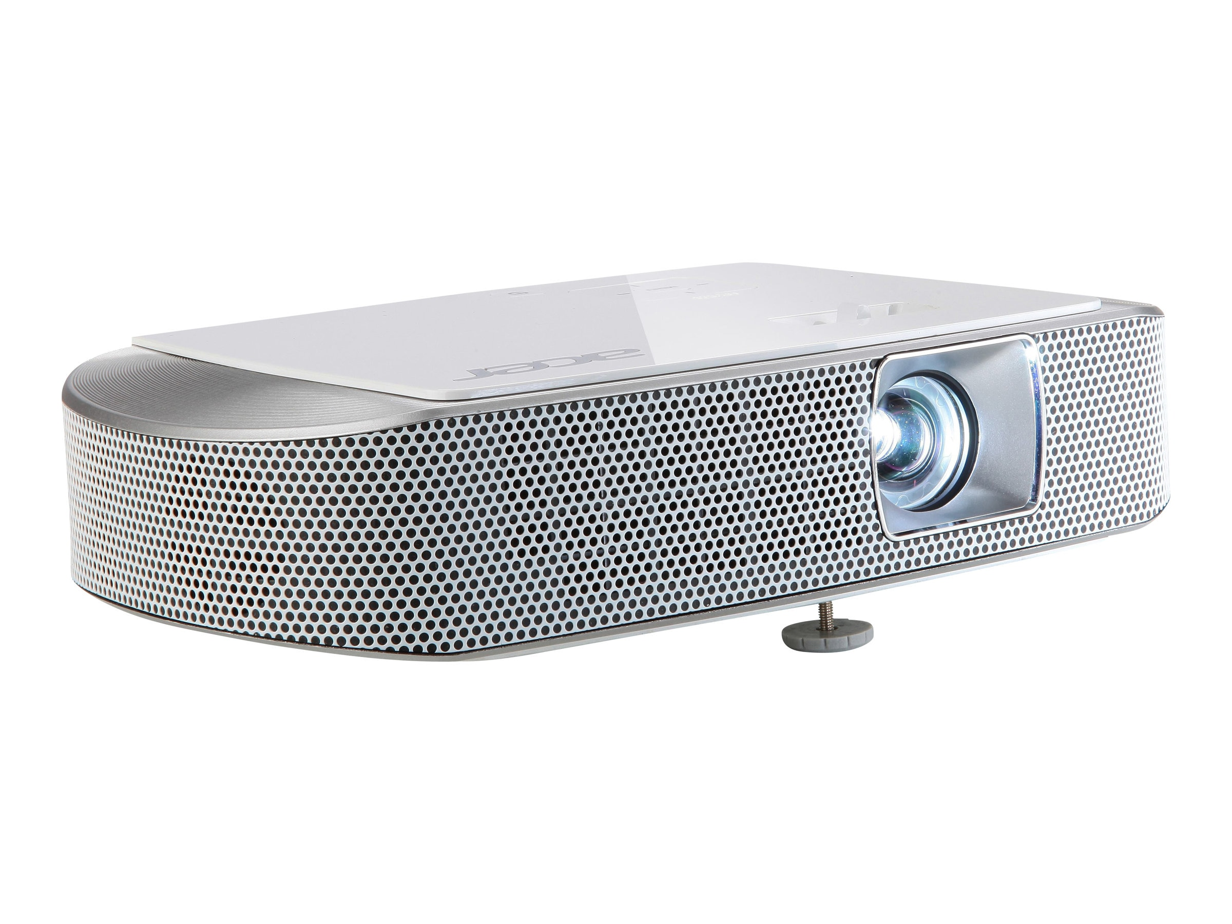 Acer K137i Wireless-Ready DLP Portable Projector, 700 Lumens, White, MR.JKX11.006