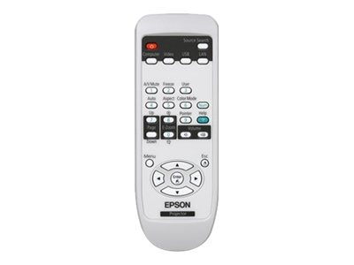 Epson Replacement Remote Control for PowerLite 84+, 85+, 825+, 826W+, 1519442