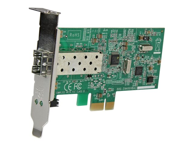 StarTech.com PCI Express 10 100 Mbps Ethernet Fiber SFP PCIe Network Card Adapter NIC, PEX100SFP, 15237220, Network Adapters & NICs