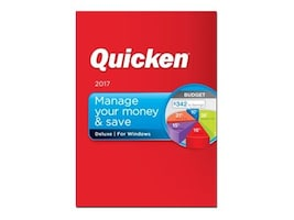 Intuit Corp. Quicken 2017 Deluxe - Boxed Product, 170031, 33039500, Software - Financial