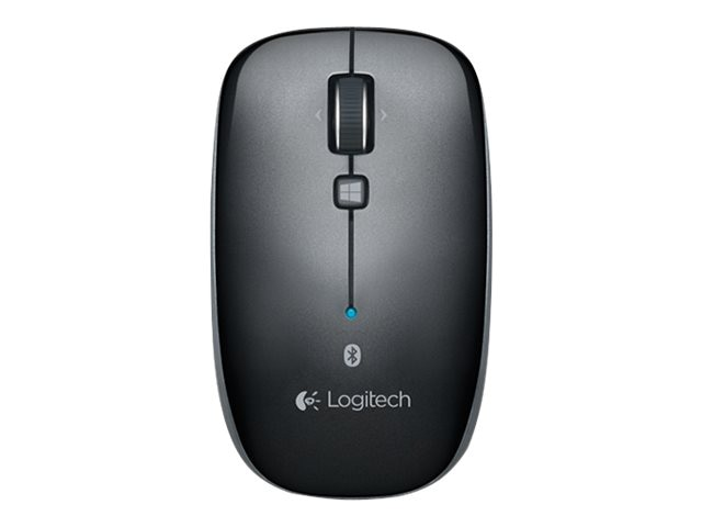 Logitech M557 Bluetooth Mouse, Dark Gray