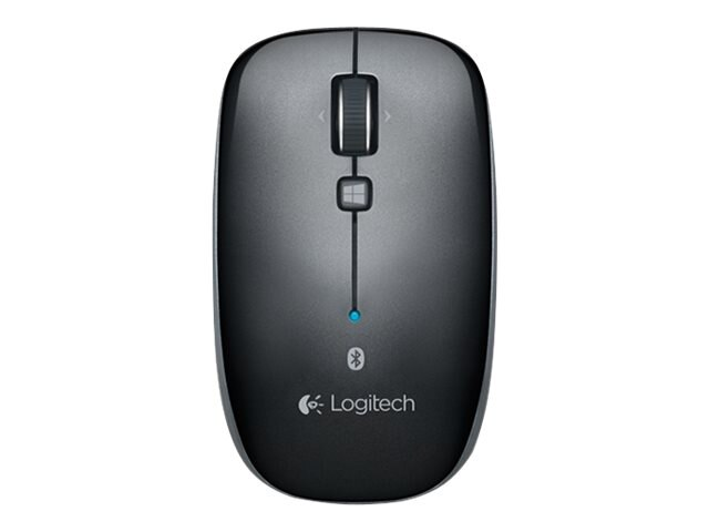 Logitech M557 Bluetooth Mouse, Dark Gray, 910-003971, 17083068, Mice & Cursor Control Devices