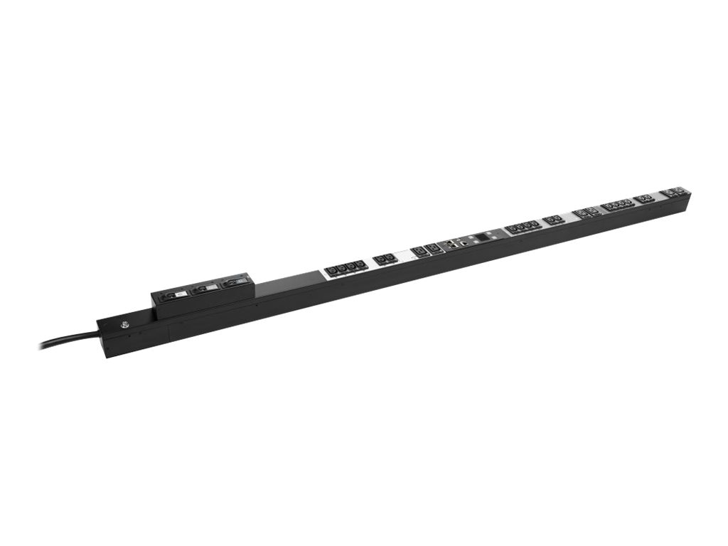 HPE Managed PDU 8.6kVA 208V L15-30P 3-phase Input (18) C13 (6) C19 Outlets NA JP, H8B52A, 18742619, Power Distribution Units