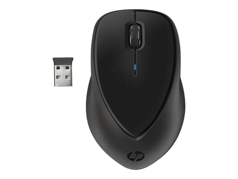 HP Comfort Grip Wireless Mouse, H2L63UT, 14528455, Mice & Cursor Control Devices